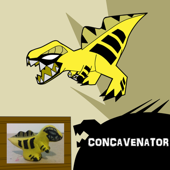 Concavenator by turb0s0ic333