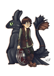 30 days of what inspires me - Day 2 Hiccup by Kaos-Felida