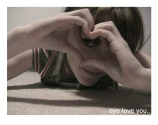 .Eye Love You.. by endless-void-of-love