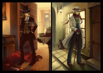 a detective and a doctor by len-yan