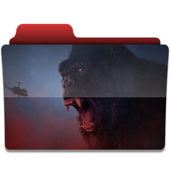 Kong Skull Island folder icon by PanosEnglish