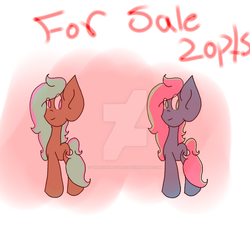 Two Adoptables (OPEN) by ThatOnePeggles