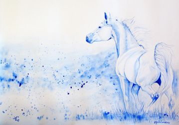 Bluehorse by Eija-H