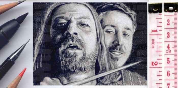 Game of Thrones sketchcard by whu-wei