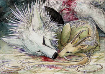 ACEO lux aeterna by NukeRooster