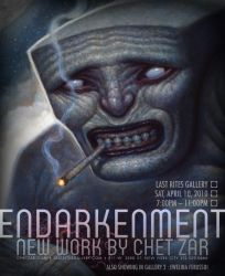 Endarkenment solo show by chetzar