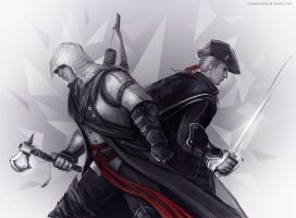 Assassin's Creed - Connor x Haytham by maXKennedy