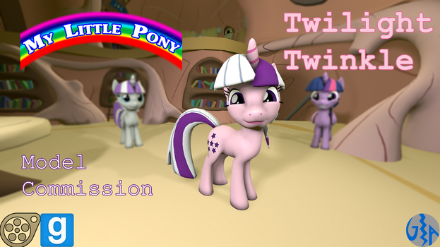 Twilight Twinkle (MLP G1, SFM/GMod DL) Commission by GameAct3