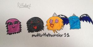 Puffadors! by muffinthehamster11