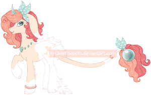 [CLOSED] Lustrous Pony Adopt 02 by Tinuleaf-Adopts