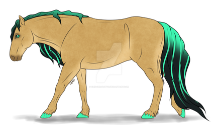 Fantasy Horse Adopt 003 (open) by ChiOchiAdopts