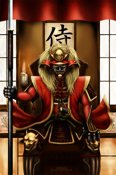 SAMURAI by fourjesterdesign