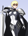 Claymore Clare by morganagod