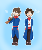 Paul and Patryk (Eddsworld) by SkyToast0411