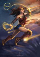 Wonder Woman by Asenceana