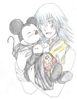 mickey and riku by okane-tsunami