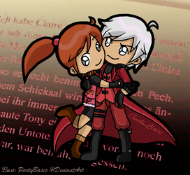 Claire and Dante by ChaoticClaire