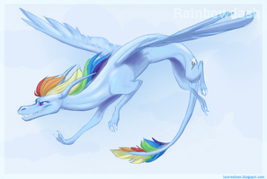 Rainbowdash by Crazy-Dragon