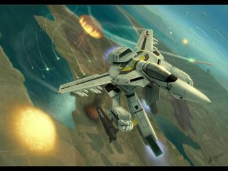 Flight of the Valkyrie by Robotech-Fans
