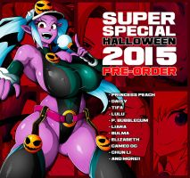 SUPER SPECUAL HALLOWEEN COMIC 2015 PRE-ORDER!! by Witchking00