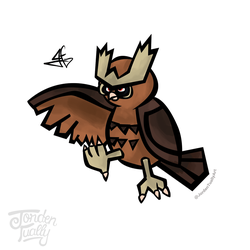 #164 Noctowl by JordenTually