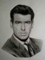 Peirce Brosnan by Y-LIME