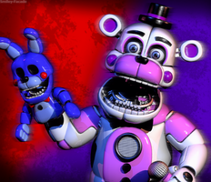 C4d   Funtime Freddy   Poster by The-Smileyy