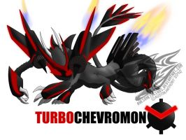 TURBOChevromon by Awesometacious