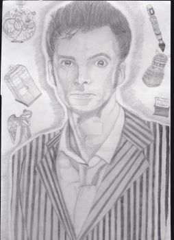The 10th Doctor by maxsilla