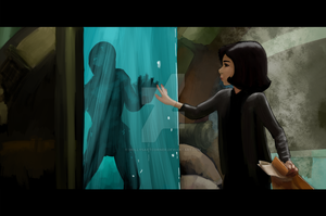 The Shape Of Water by MollysArtCorner