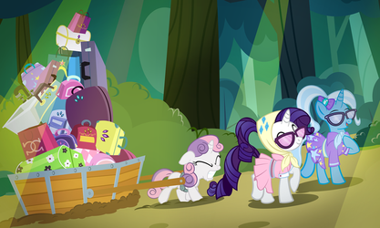 Camping With Trixie by PixelKitties