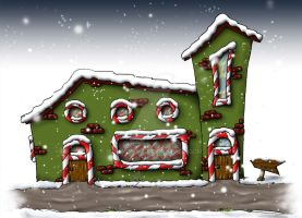 Santa Clause's House by Hermionina