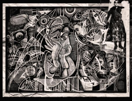 The Mystery of Poe and Picasso by etraud