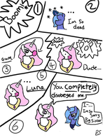 Teenage Celestia and Luna ''Burst Bubble'' by PrincessSeddie