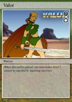 Valor Trading Card by NCWeber