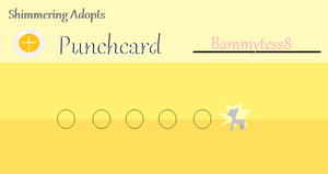 bammytess8 Punchcard by Shimmering-Adopts