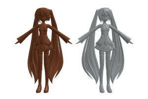 [MMD Effect DL] Chocolate Shader and Doll Shader by Cole207