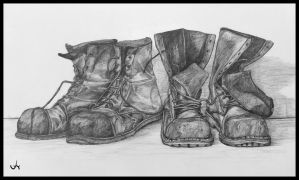 HEAVY SHOES by NuinChristopher