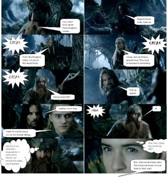 Lord of the Rings Comic 21 by ashantiwolfrider