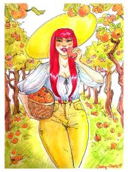 apple picking by janey-jane