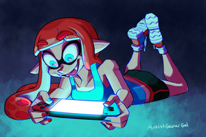 Splatoon 2 Testfire Weekend by artistgamergal