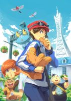 Pokemon XY by kamifish