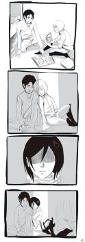 Don't touch Mikasa's things by JellyLemons