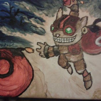 Ziggs Painting by Joizjoiz