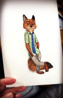 Nick by mliddam