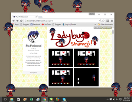 Miraculous Ladybug: Marinette Shimeji *Download* by Kicoma
