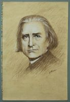 Beautiful Minds: Franz Liszt by VasilArt