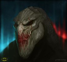 Killer Croc by mirrors519