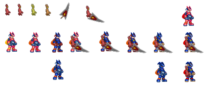 Nightmare Zero spriting proces by Morpholomewy