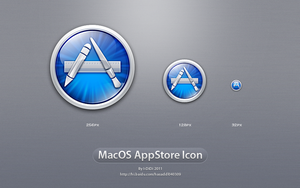 MacOS AppStore Icon by aipotuDENG